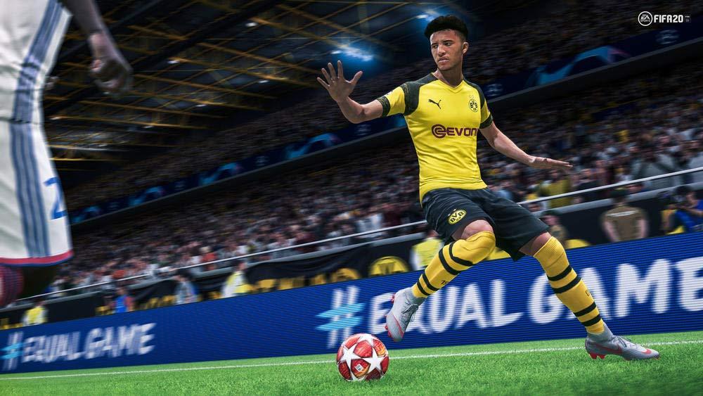 Playstation 4 Fifa 20 gameplay